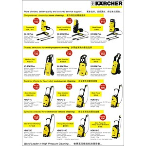 Alat Steam - Steam Cleaner Karcher - High Pressure Jet Cleaner Karcher