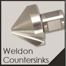 Mata Bor . HSS Countersink Weldon 25mm