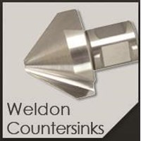 Mata Bor . HSS Countersink Weldon 40mm 1