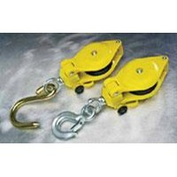 Harness . Campell Fiberglass Hand Line Block with Latched swivel Hook  1