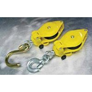 Harness . Campell Fiberglass Hand Line Block with Latched swivel Hook