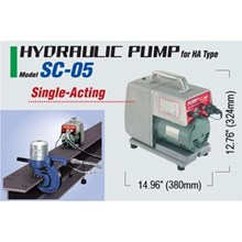 Hydraulic Puncher Nitto - Electric Portable Single Acting Hydraulic Puncher Nitto