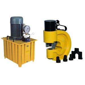 Hydraulic Puncher WEKA OPM-70 - Hydraulic Busbar Punching WEKA OPM-70 - Electric Hydraulic Busbar Puncher WEKA