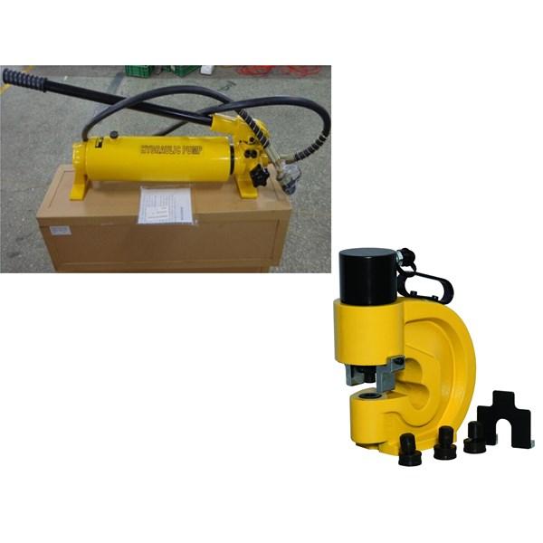Hydraulic Puncher - Hydraulic Puncher WEKA - Mesin Plong  - Hydraulic Puncher  - Hydraulic Busbar Puncher