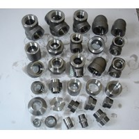 Pipa Stainless - FITTING STAINLESS - Elbow SS - Tee SS - Reducer SS - Socket SS - Close Te - Adaptor SS - Sifon U - Sifon O - Fitting Forged Steel A105 #3000