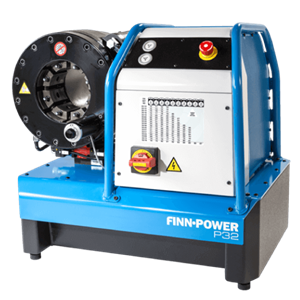 Mesin Crimping Home - Mesin Press Selang Finn Power - Mesin Crimping Hose FINN-POWER P32 - HOSE CRIMPING MACHINE FINN-POWER P32X