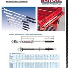 Kunci Momen Britool  - BRITOOL TORQUE WRENCH - Torque Wrench Britool EVT3000