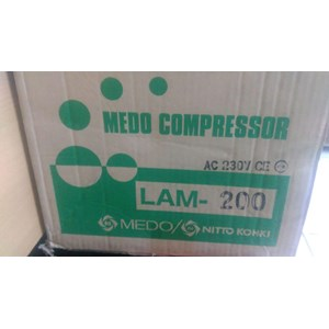 Dari Exhaust Fan - MEDO LAM-200 - MEDO Air Blower LAM-200  - NITTO KOHKI MEDO AIR BLOWER  1