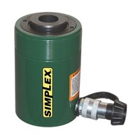 Dongkrak Botol Simplex - Hidrolik Jack Simplex - Hydraulic Cylinder Jack Hollow Plunger Single Acting Simplex  RC Series