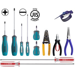 Perkakas Bengkel - VESSEL - Obeng Vessel - Tang Vessel - Palu Vessel - lVessel Wire Stripper - Vessel Screwdriver Bits - Impact screwdriver Vessel - Vessel Screwdriver - Plastic Hammer Vessel