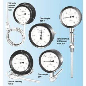 Barometer Alat Ukur Tekanan Udara Yamamoto Keiki - Pressure Gauge Yamamoto - Thermometers Yamamoto