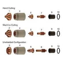 Mesin Potong Plat - Cutting Tip Hypertherm - Consumable Plasma Cutting Hypertherm - Spare Part Plasma Ctting Hypertherm