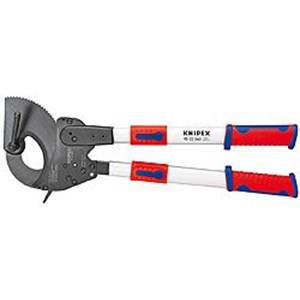 Gunting Besi - KNIPEX - Ratchet Hand Cable Cutter KNIPEX - KNIPEX Hand Ratchet Cable Cutter