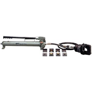 Hydraulic Crimping Tool OPT - OPT Hydraulic Cable Cutter - OPT Hydraulic Busbar Puncher - OPT Hydraulic Busbar Bender - OPT Hydraulic Busbar Cutter