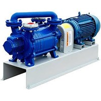 Pompa Vakum - Vacuum Pump - Two Stage Liquid Ring Vacuum Pump - Mono Block Vacuum Pump 1