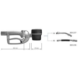 Safety Valve SAMOA - Digital Nozzle Oil Gun 1/2