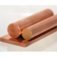 Jual Pipa Tembaga - Copper Round Bar - Copper Bus Bar