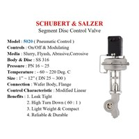 Contol Valve Schubert & Salzer