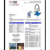 Mesin Potong Plat Kobewel -  Automatic Gas Cutting Kobewel  KC 12MAX 3 Straight Line 2 Torch