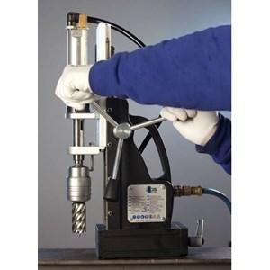 Dari Mesin Bor Magnet Angin - Air Pneumatic Magnetic Drill.  2