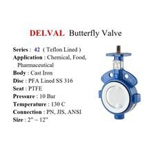 DELVAL Butterfly Valve