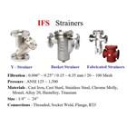 Strainer Valve IFC - Y-Strainer IFC - Basket Strainer IFC - Fabricated Strainer IFC 2