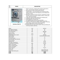 Washer Extractor Kapsitas 30 Kg