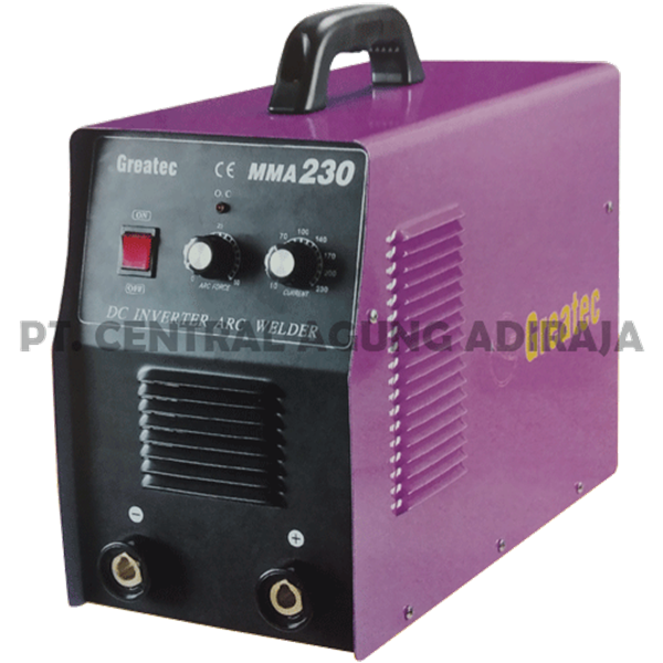 GREATEC Mesin Las MMA Inverter MMA-160/230/250