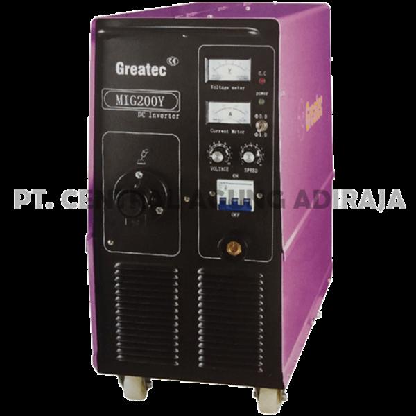 GREATEC Mesin Las MIG Inverter MIG-200Y