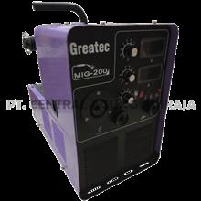 GREATEC Mesin Las MIG/MMA Inverter MIG-200