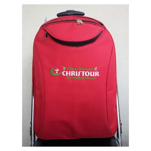 Travel Bag Christour Warna Merah