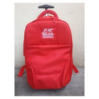 Jual Travel Bag Jenis Ransel Warna Merah