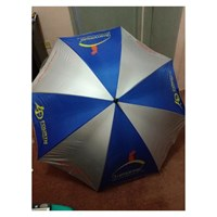 Promotional umbrella in red