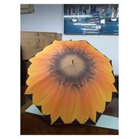 Payung Fashion Motif Bunga Matahari