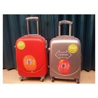 Jual Koper Travel Merah dan Silver