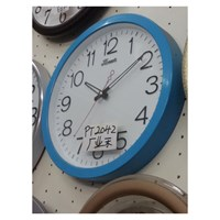 Wall Clock Blue Promotion
