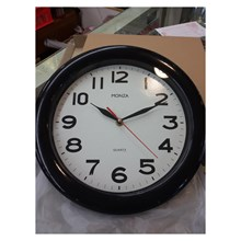 Promotion Wall Clock 30cm Black Color