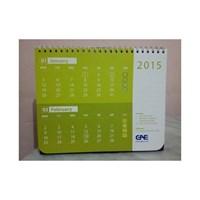 Kalender Meja Promosi Spiral Kombinasi
