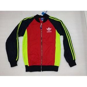 Dari Jaket Olahraga Kombinasi Tiga Warna 0
