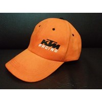 Jual Topi Promosi Warna Oranye