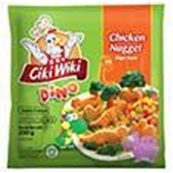 Jual Ciki Wiki Chicken Nugget Dino 250Gr