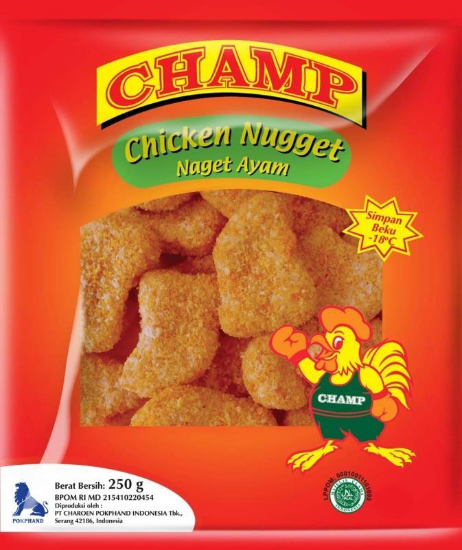 Jual Champ Chicken Nugget Harga Murah Cikarang Oleh Toko