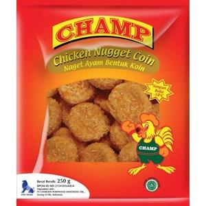 Jual Champ Chicken Nugget Coin Harga Murah Cikarang Oleh Toko Sae Frozen Food