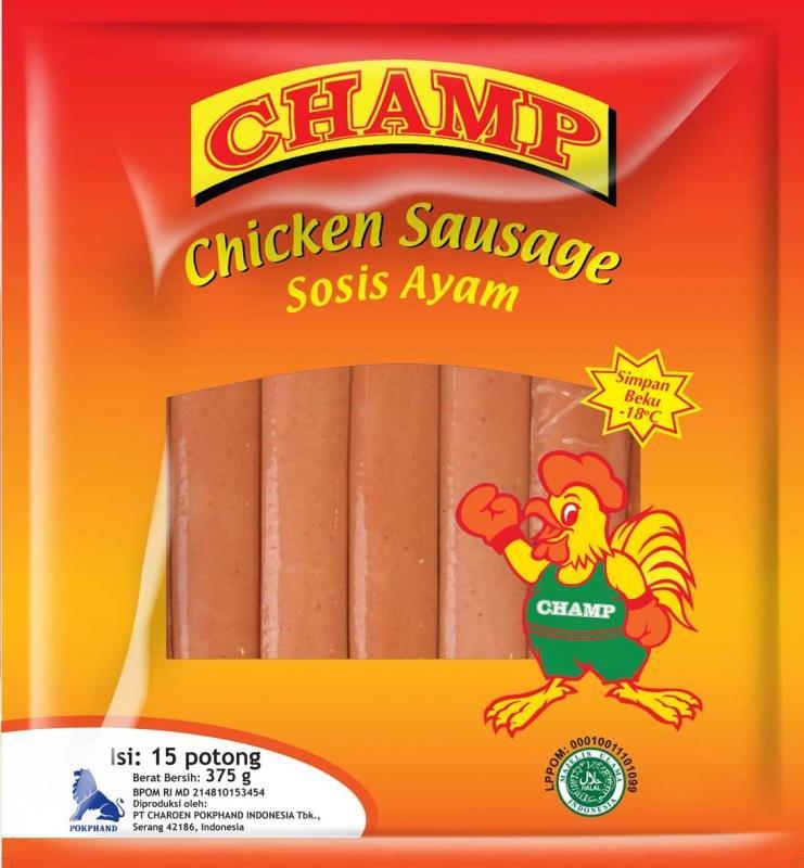 Jual Champ Sosis Ayam Harga Murah Cikarang Oleh Toko Sae