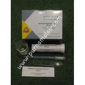 Hidrogen Peroksida Test Kit (Kimia Farmasi)
