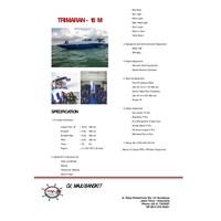 Jual Trimaran 18 5 M (Komplit)