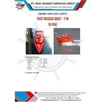 FAST RESCUE BOAT 7M CAP.15 PAX
