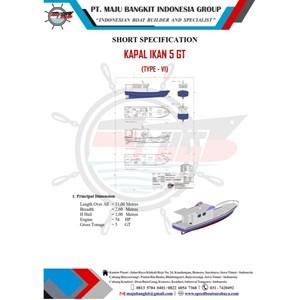 FISHING BOAT 5 GT P.11.00M L.2.60M