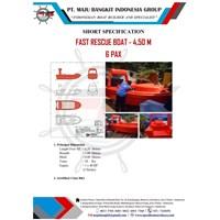FAST RESCUE BOAT 4.5 M