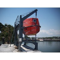 DAVITS ( LIFEBOAT DAVITS) Single and Double ARM